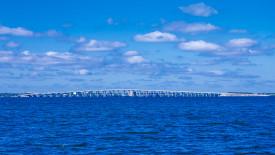 Free HD Wallpaper   Clouds and Bridge