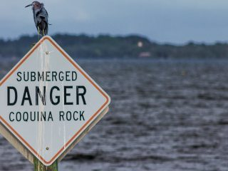 Danger Coquina Rock