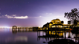 Stunning Night View of the Indian River Lagoon