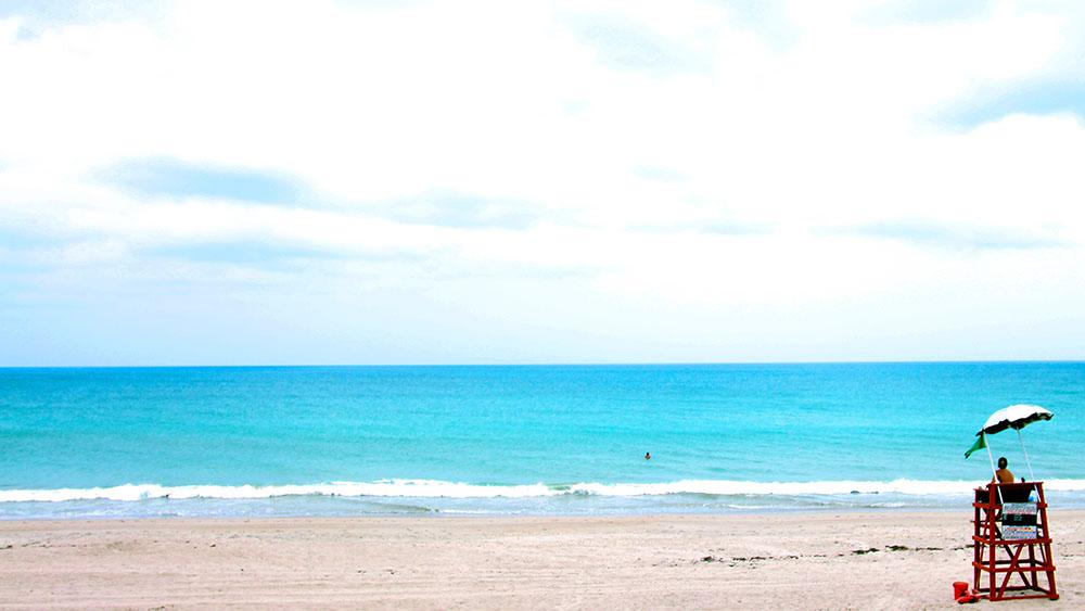Beach Lifeguard Desktop Wallpaper